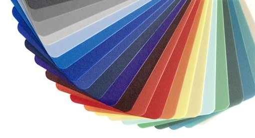 palet van een van de vele kleursystemen die er zijn