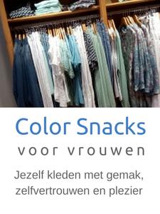 Color Snacks voor vrouwen