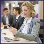telefoon opnemen tijdens een vergadering